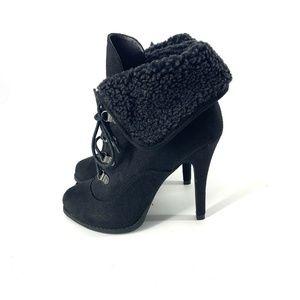 Kardashian Kollection Black Aspen 👢 Boots Sz 10M